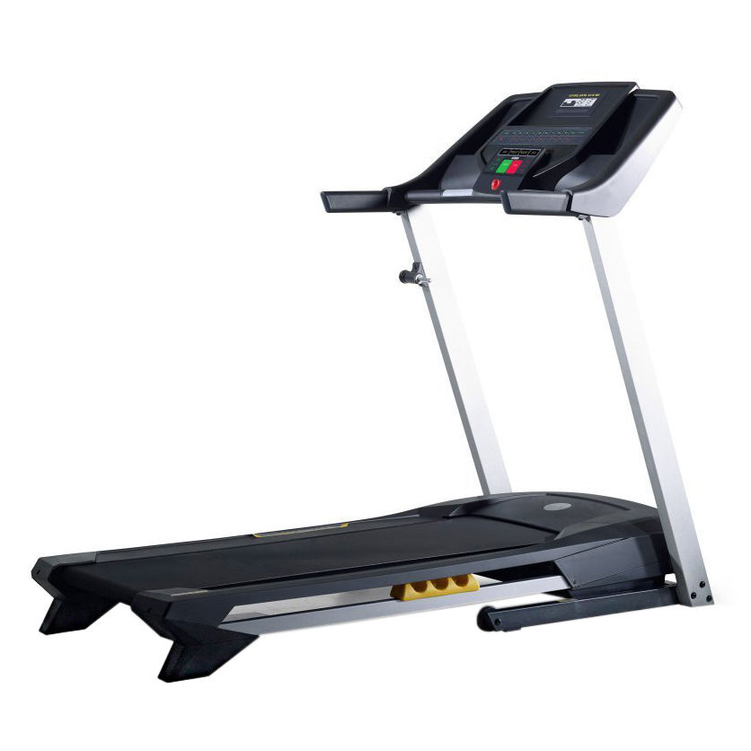 Gold s gym trainer treadmill workout machine