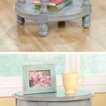 Inspired Accents Gray Modern Side End Tables