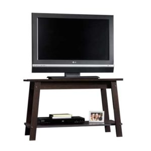 LCD TV Entertainment Stand - Cinnamon Cherry Color