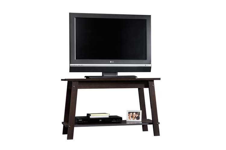 Lcd Tv Entertainment Stand Cinnamon Cherry Color