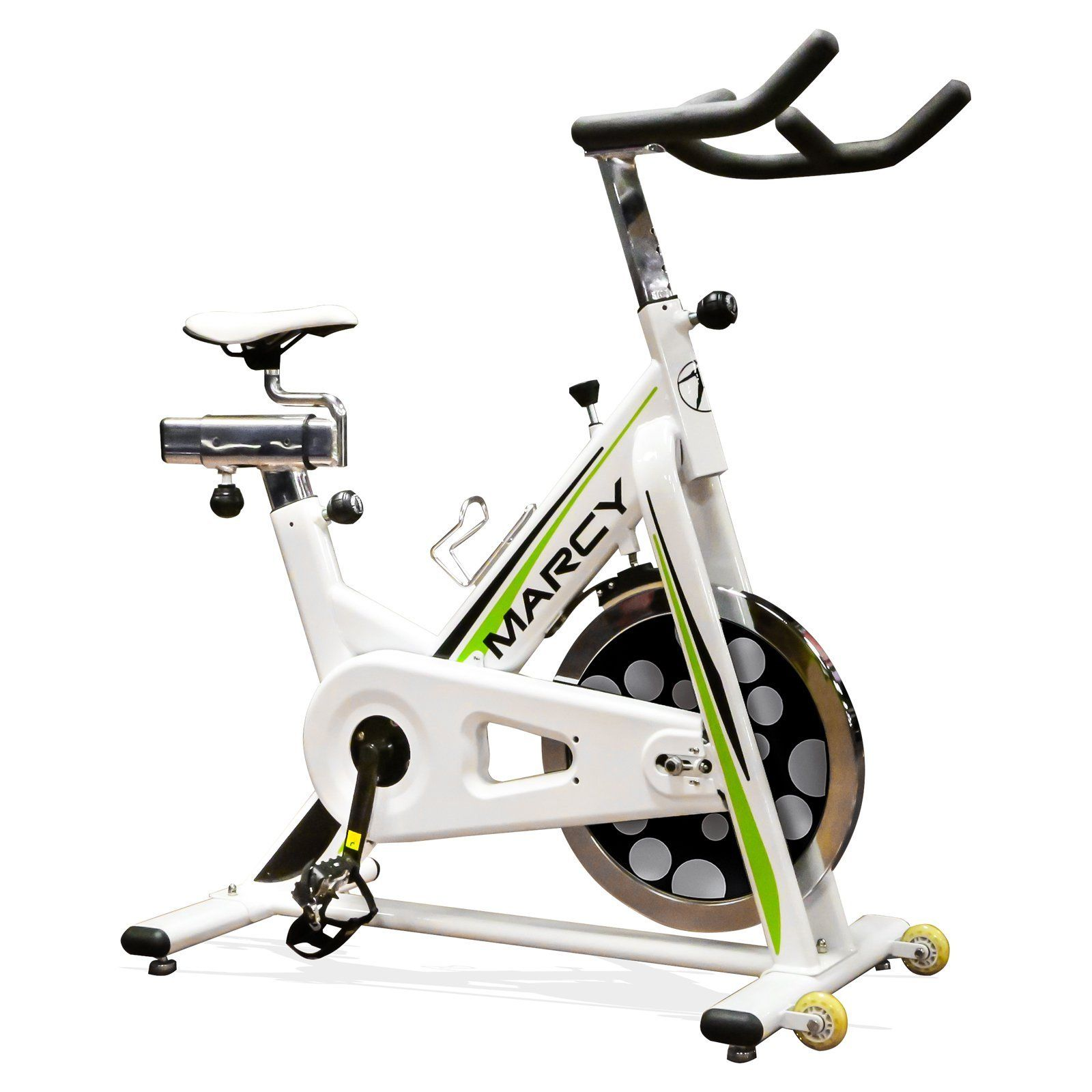 Marcy Club Revolution Exercise Bike Indoor Gym Cycle