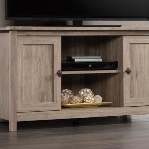 Salt Oak Adjustable TV Entertainment Stand