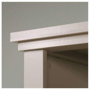 Tall Storage Cabinet - Cobblestone White 3