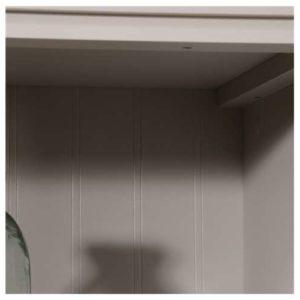 Tall Storage Cabinet - Cobblestone White 4
