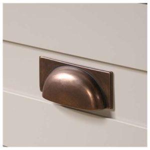 Tall Storage Cabinet - Cobblestone White 5