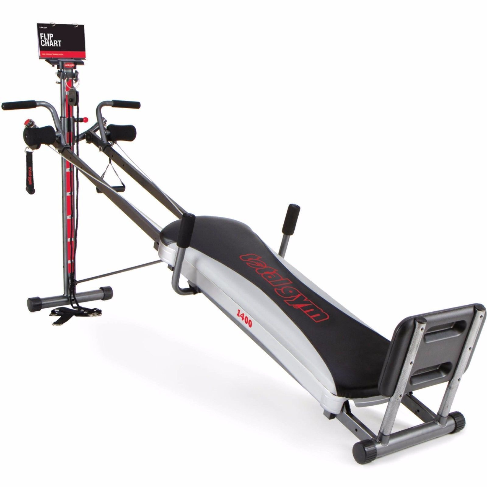 Home Exercise Equipment For Beginners: Total Gym 1400 Deluxe Home Exercise Machine