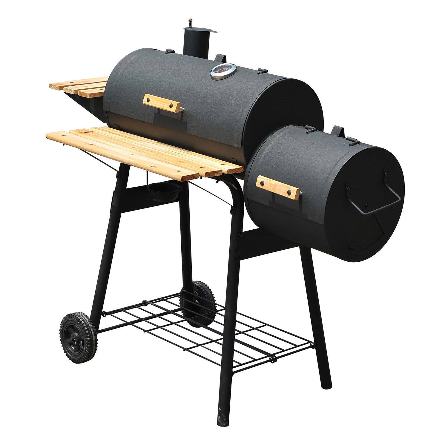 48 inch charcoal barbecue grill patio smoker. Black Bedroom Furniture Sets. Home Design Ideas