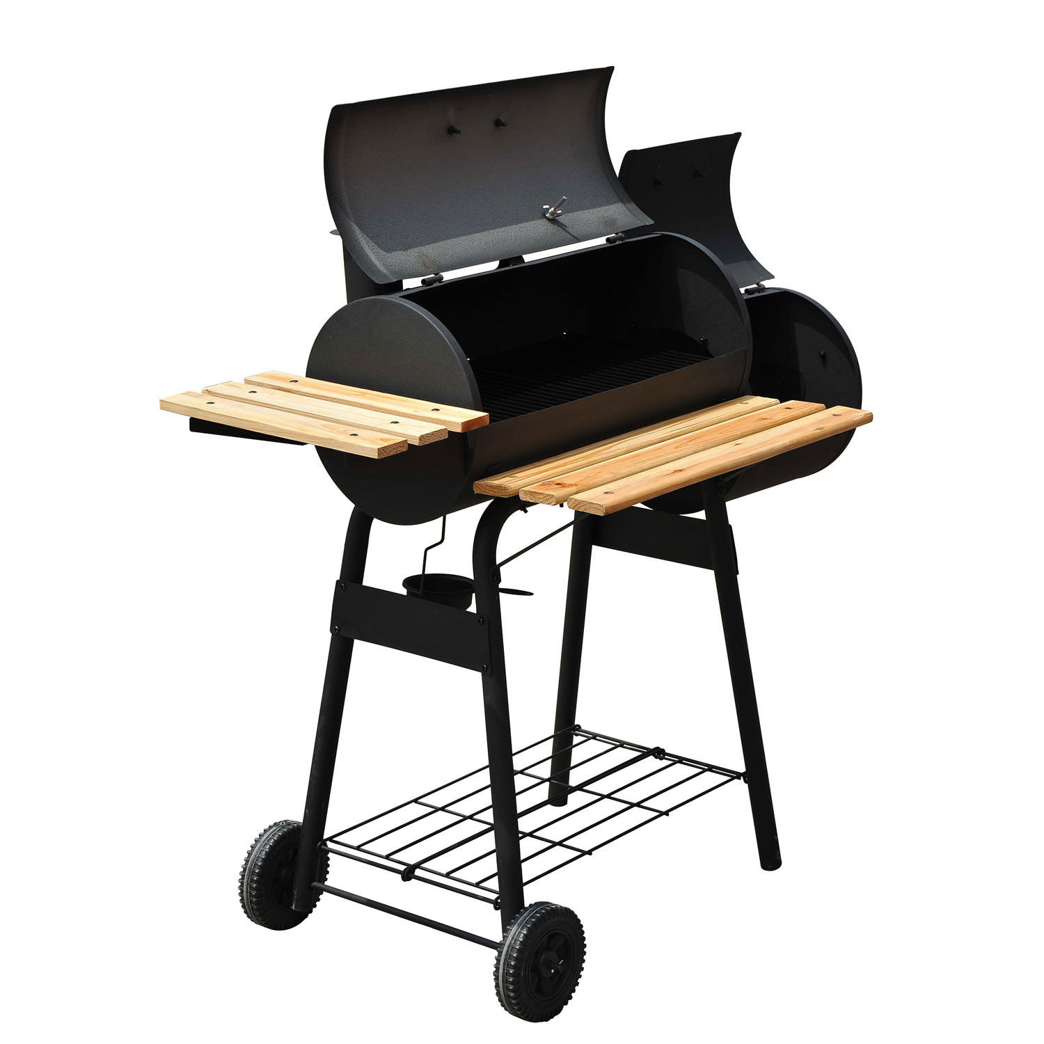 Charcoal Barbecue Grill Patio Smoker 2