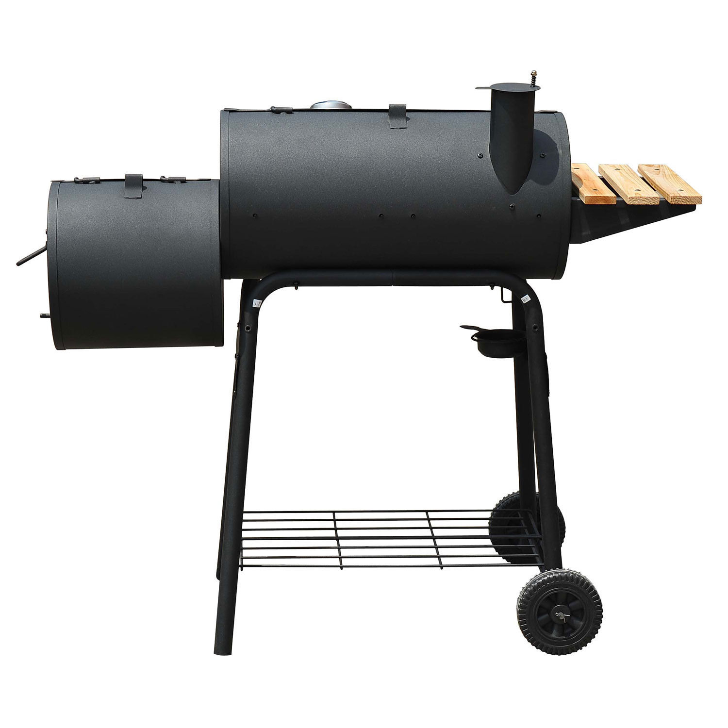 Bon Charcoal Barbecue Grill Patio Smoker 3