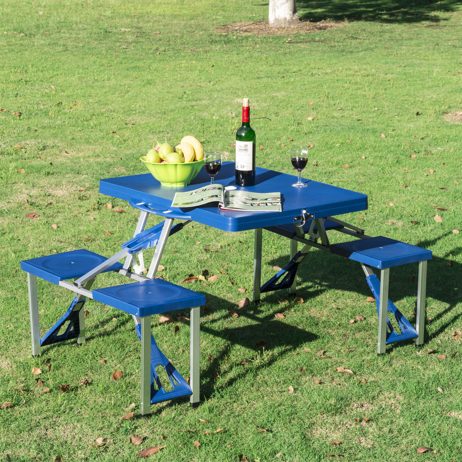 Portable Folding Picnic Table 4 Options