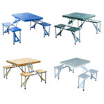 Portable Folding Picnic Table Product Images