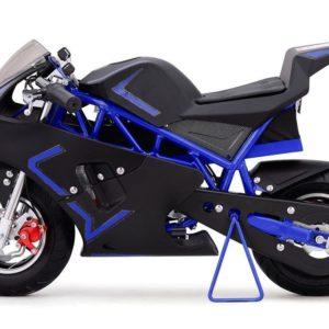 36v cali electric pocket bike motorcycle blue 2