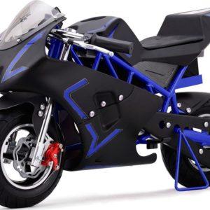 36v cali electric pocket bike motorcycle blue
