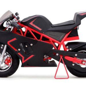 36v cali electric pocket bike motorcycle red 2