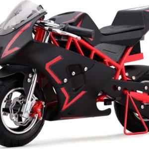36v cali electric pocket bike motorcycle red