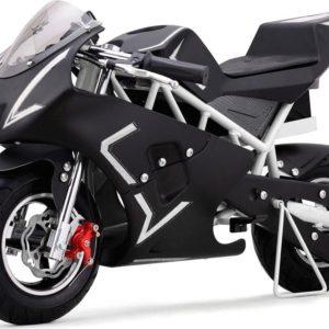 36v cali electric pocket bike motorcycle white