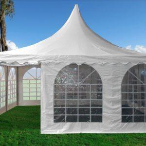20 x 20 pvc pagoda tent canopy gazebo 2