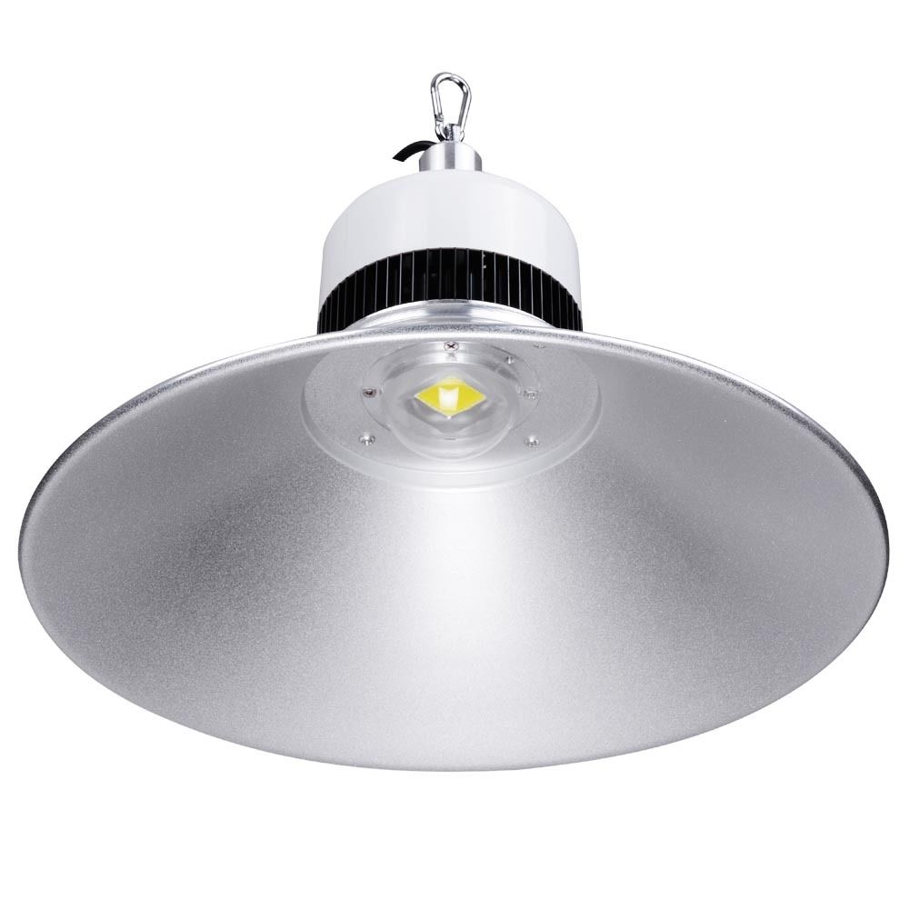 Advantages Of Using Led High Bay Lighting In Warehouses: 100w 15 Inch LED High Bay Light Ceiling Fixture