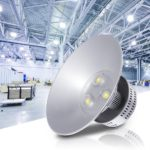 150w 19 Inch LED High Bay Light Fixture Warehouse Cool White