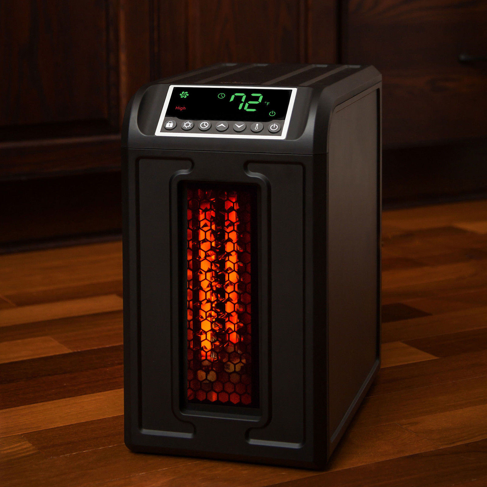 3 Element 1500w Infrared Space Heater 5118 Btu