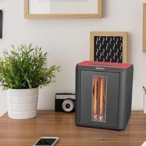 3 Element Desktop Heater & Fan 2