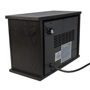 750 Watt Infrared Mini Fireplace Heater 3
