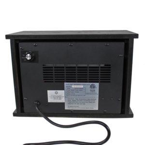 750 Watt Infrared Mini Fireplace Heater 5