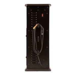 Dark Walnut Vertical Infrared Space Heater 5