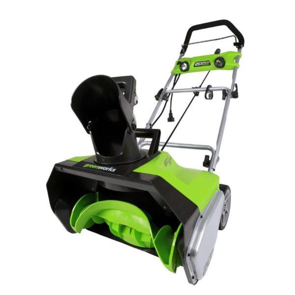 Greenworks 20 Inch Snow Thrower - 13-Amp 3