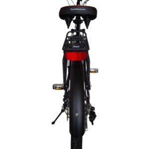 Hanalei Electric Step Through Beach Cruiser Bicycle - Black Rear