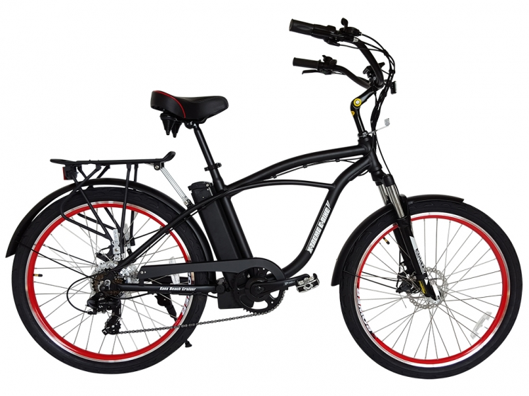 kona electric beach cruiser bicycle