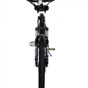 Kona Electric Beach Cruiser Bicycle - 36 Volt Lithium Powered - Black Front