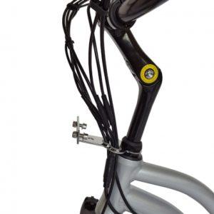Kona Electric Beach Cruiser Bicycle - 36 Volt Lithium Powered - Handlebars 2
