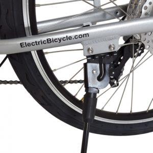 Kona Electric Beach Cruiser Bicycle - 36 Volt Lithium Powered - Kickstand