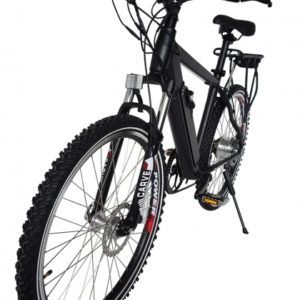 Rubicon 36 Volt Lithium Powered Electric Mountain Bicycle - Black