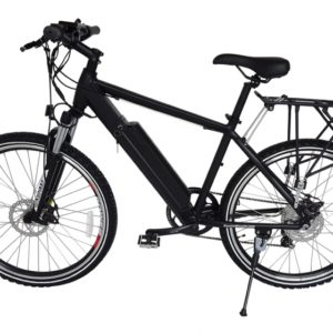 Rubicon 36 Volt Lithium Powered Electric Mountain Bicycle - Black 4