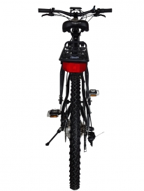 Rubicon 36 Volt Lithium Powered Electric Mountain Bicycle - Black 6
