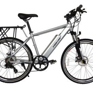 Rubicon 36 Volt Lithium Powered Electric Mountain Bicycle - Silver 3