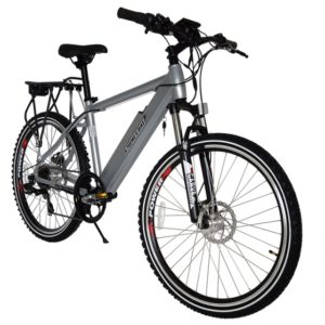 Rubicon 36 Volt Lithium Powered Electric Mountain Bicycle - Silver