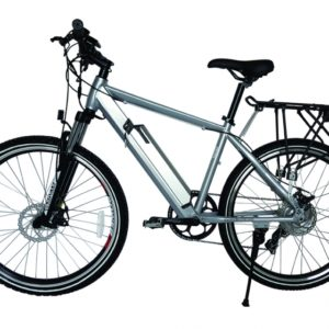 Rubicon 36 Volt Lithium Powered Electric Mountain Bicycle - Silver 4