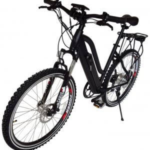Sedona 36 Volt Lithium Powered Electric Step-Through Mountain Bicycle - Black 3