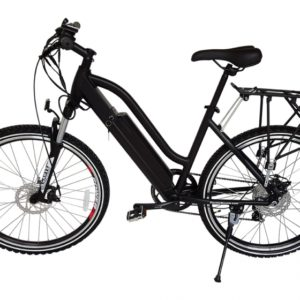 Sedona 36 Volt Lithium Powered Electric Step-Through Mountain Bicycle - Black