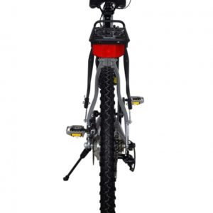 Sedona 36 Volt Lithium Powered Electric Step-Through Mountain Bicycle - Black Back