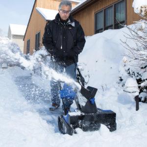 Snow Joe Hybrid Cordless Electric Snow Blower 4