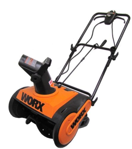 Worx 18 Inch Electric Snow Thrower 8