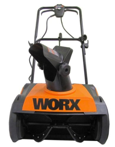 Worx 18 Inch Electric Snow Thrower 9