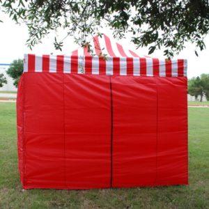 10 x 20 Red Stripe Pop Up Tent Canopy Gazebo 2