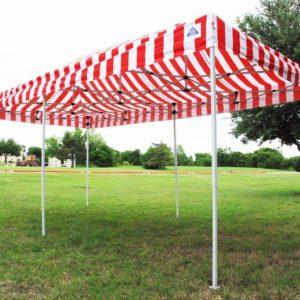 10 x 20 Red Stripe Pop Up Tent Canopy Gazebo 5
