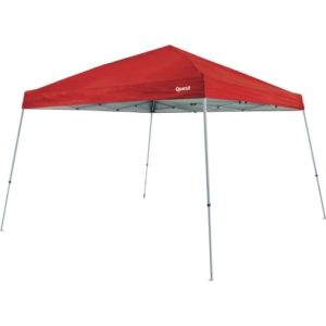 10 x 10 Red Pop Up Canopy Tent - Quest