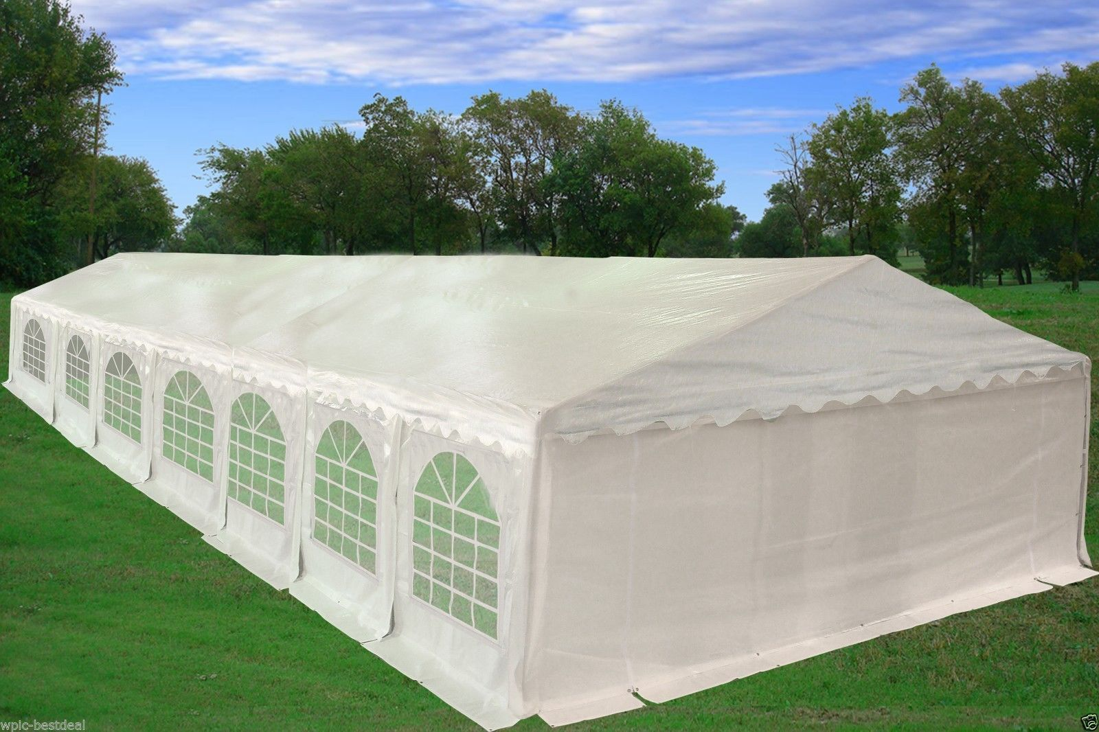49 X 23 Pvc Party Tent Canopy Gazebo